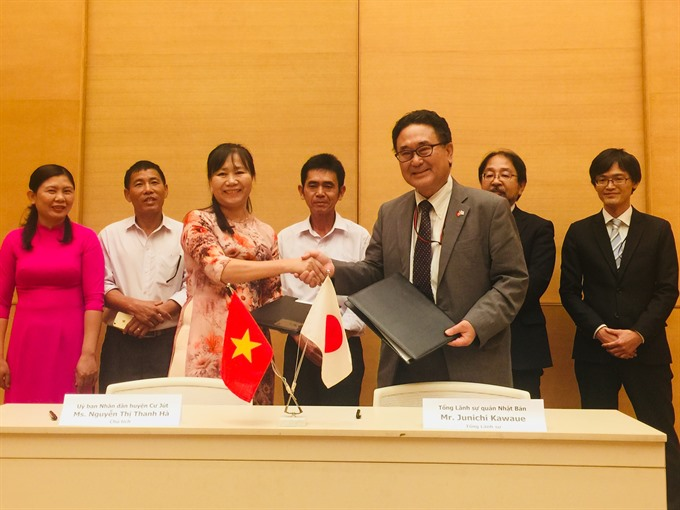 Japan supports healthcare education projects