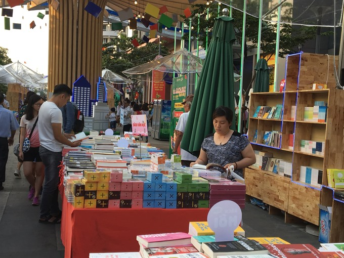 HCM City annual book festival opens next week