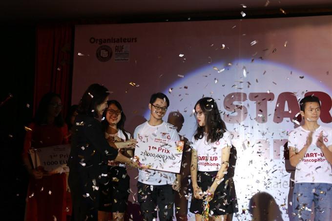 Registration open for 'Start-up Francophone contest