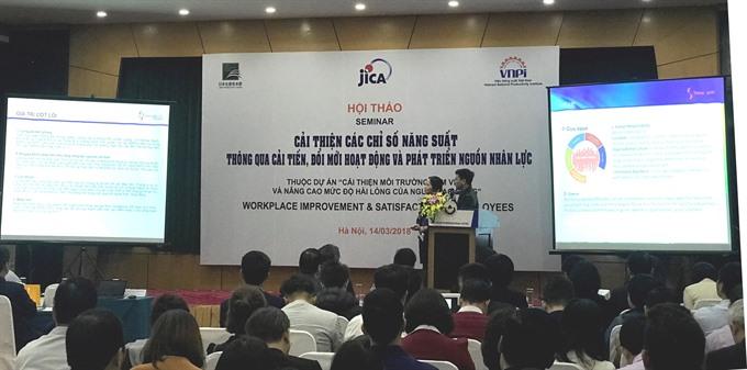 Japan helps Vietnamese companies improve workplace satisfaction