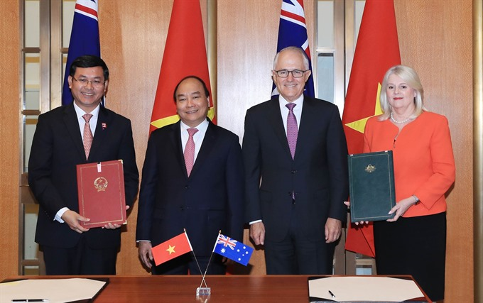 Joint statement on establishment of Việt Nam-Australia strategic partnership