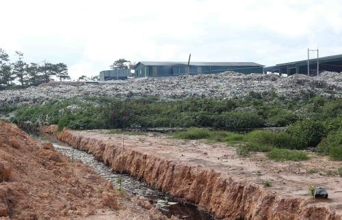 Waste treatment factory found dumping waste illegally