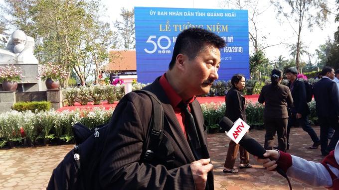 Mỹ Lai memorial sends message of peace