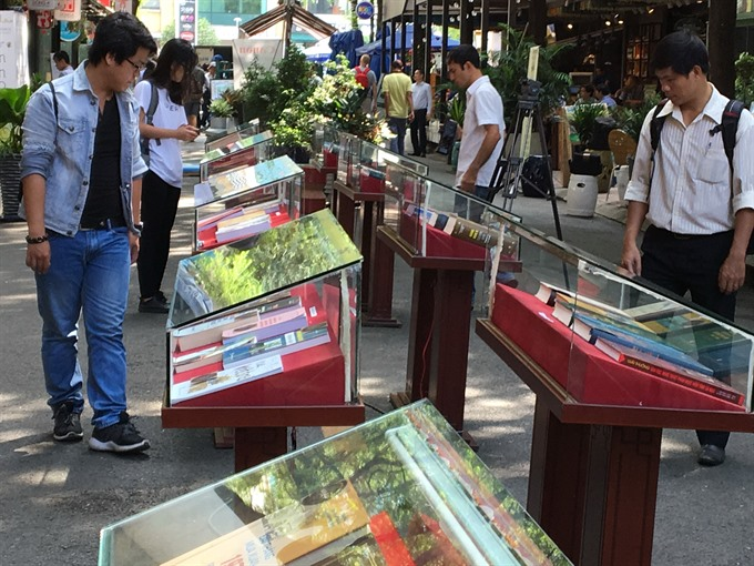HCM City Book Street showcases rare collections