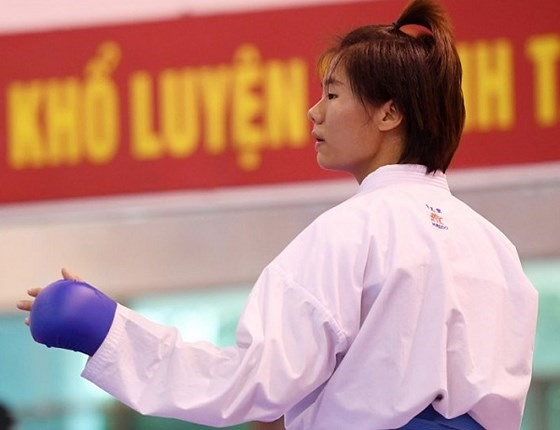 Ngoan Anh fight in Karate 1 event