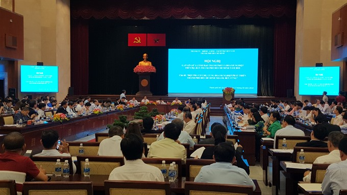 HCM City vows to support private sector