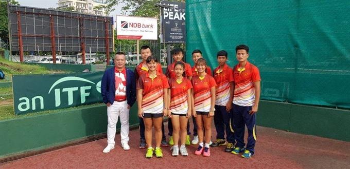 Việt Nam finish third at Junior Davis Cup