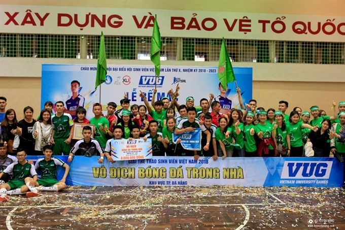 University of East Asia win VUGs futsal