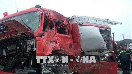 Fireman dies in accident another injured