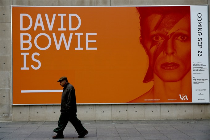 David Bowie exhibition comes home to New York