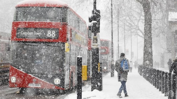 Deadly blizzards lash Europe air travel disrupted by snow