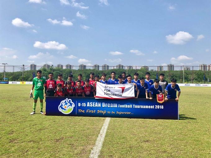 U15 PVF beat Police Tero: ASEAN dream football