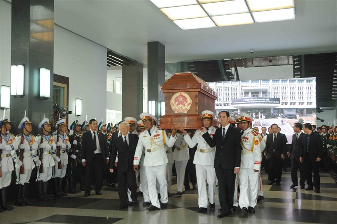 Memorial service and burial ceremony of former PM Phan Văn Khải