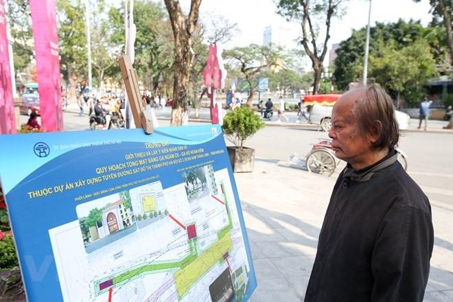 Majority want metro station near Hoàn Kiếm Lake