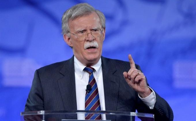 Trump names Bolton as national security advisor