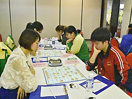 National Chinese chess event starts in Vũng Tàu