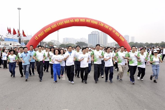 8000 take part in Olympic Run Day launch of Run for Peace