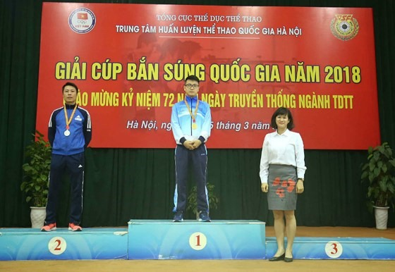 Shooting Cup finishes with eight records