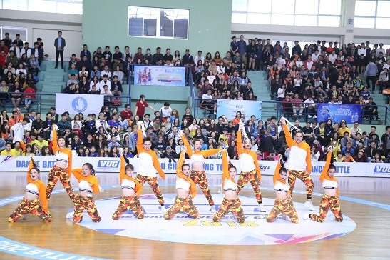 VUG Dance Battle 2018 starts in Hà Nội