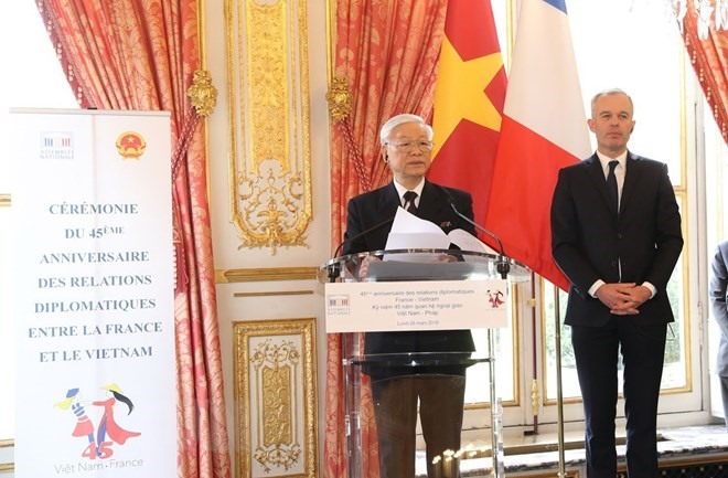 VN France mark 45th anniversary of diplomatic ties