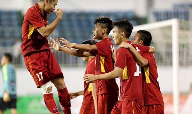 U19 Việt Nam beat U19 Hoàng Anh Gia Lai