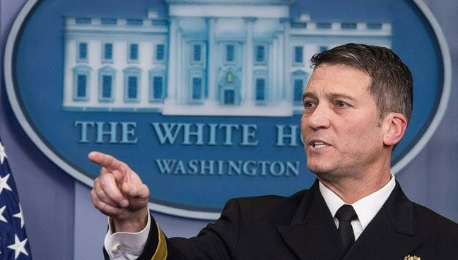 Trump ousts Veterans Affairs chief taps WH doctor to replace him