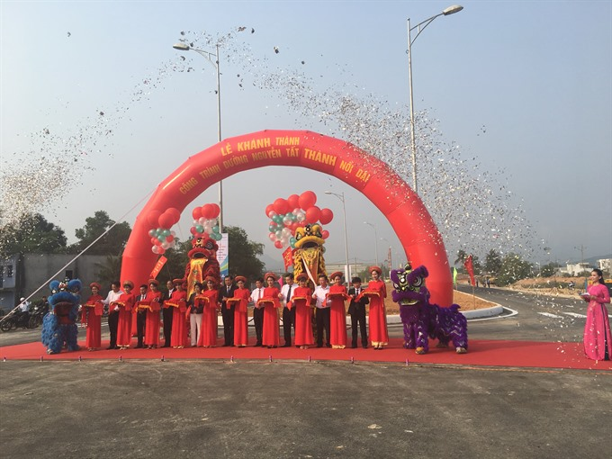 Central city opens key road project