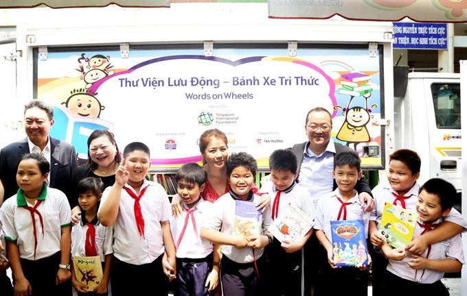 Singapore-funded programme promotes reading among children