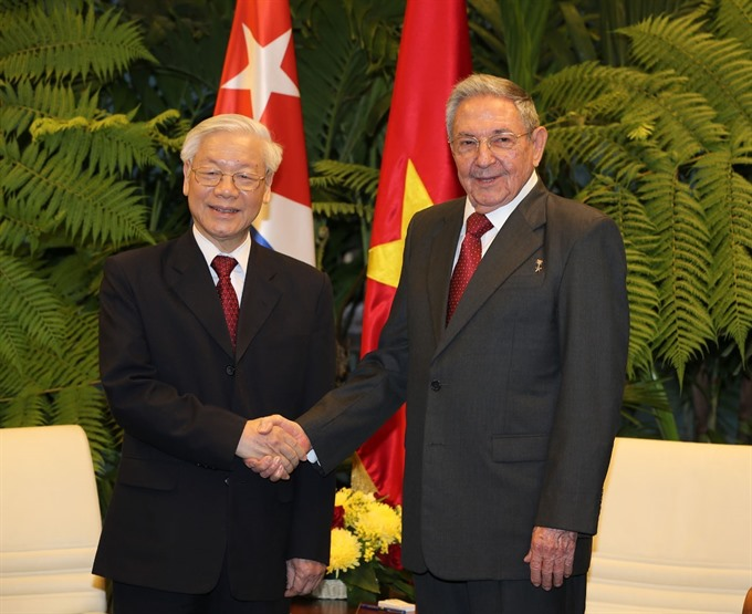 VN Cuba issue joint statement