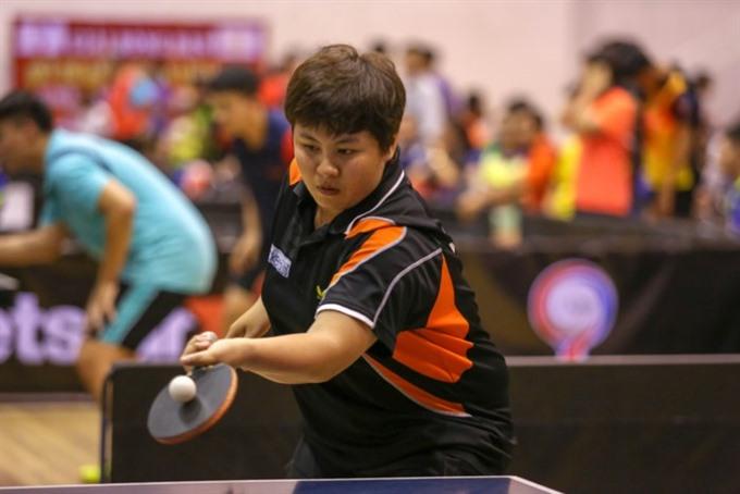 Vietnamese players begin table tennis exchange with Japan