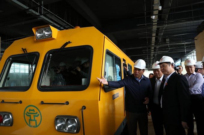 Metro on track