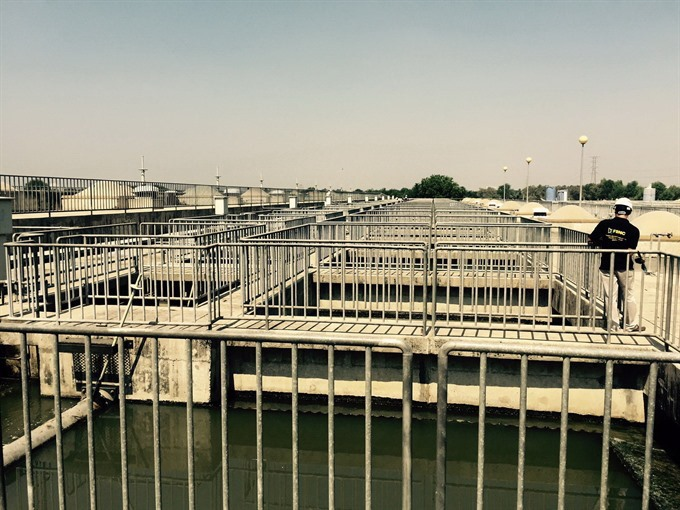 City keen to treat 80% of household wastewater building treatment plants