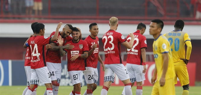 Thanh Hóa lose to Bali United at AFC Cup