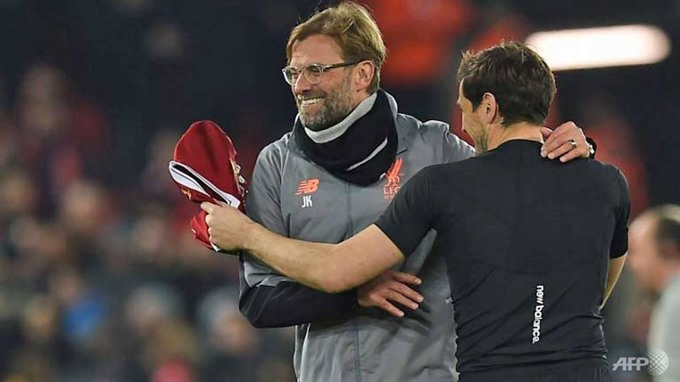 Klopp targets more after Liverpool end long wait for last eight