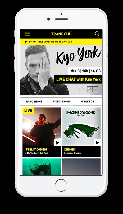 Xone radio offers content on new mobile app