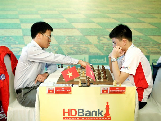 Prestigious HDBank tournament provides big bonus to chess masters