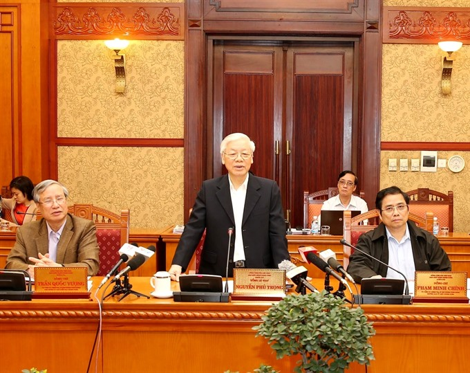 Reports weighing achievements and shortcomings in Party building discussed: Party Secretariat
