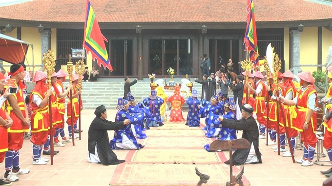Cultural events to be held at Hùng Temple Festival