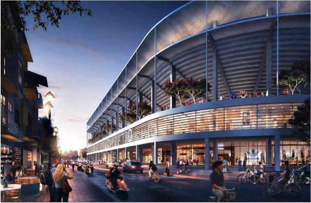 Hàng Đẫy Stadium to get 308m facelift