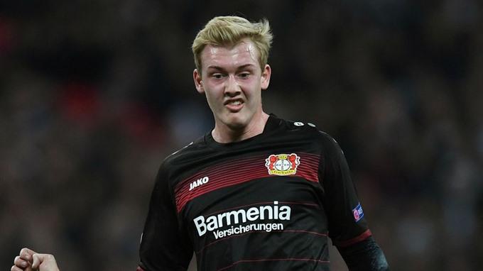 Brandt stars as Leverkusen hit back to beat Leipzig