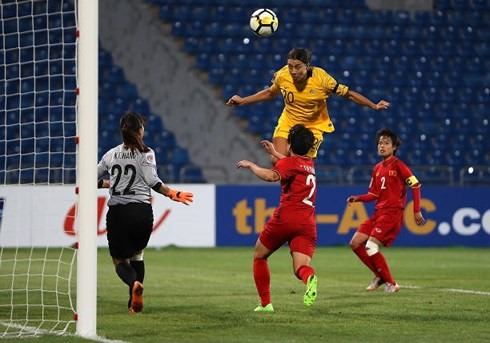 VN lose 0-8 to Australia in Asian Cup
