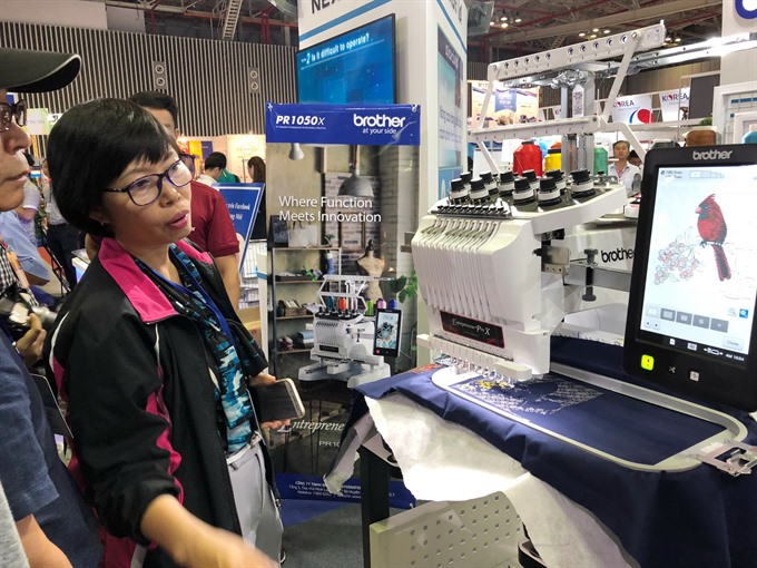 Garment-textile expo opens in HCM City