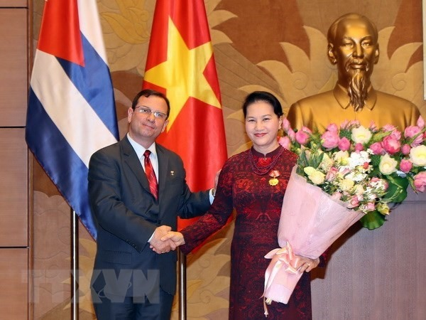 NA Chairwoman honoured with Cubas Solidarity Order