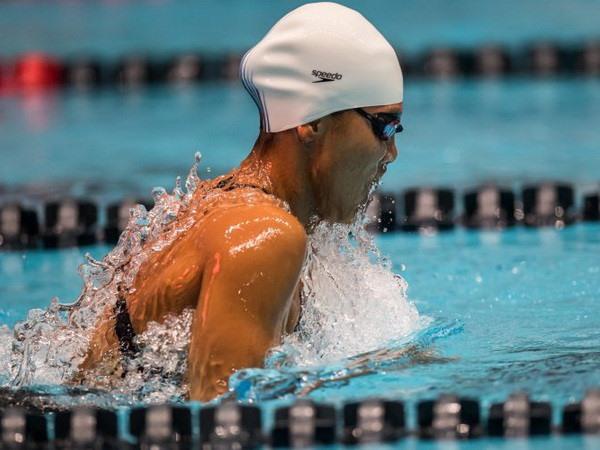 Viên wins gold in Pro Swim Series