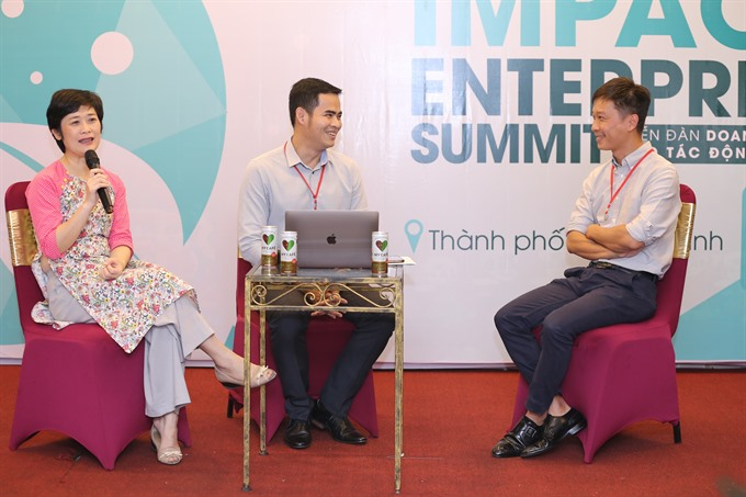 Business world talks social enterprises