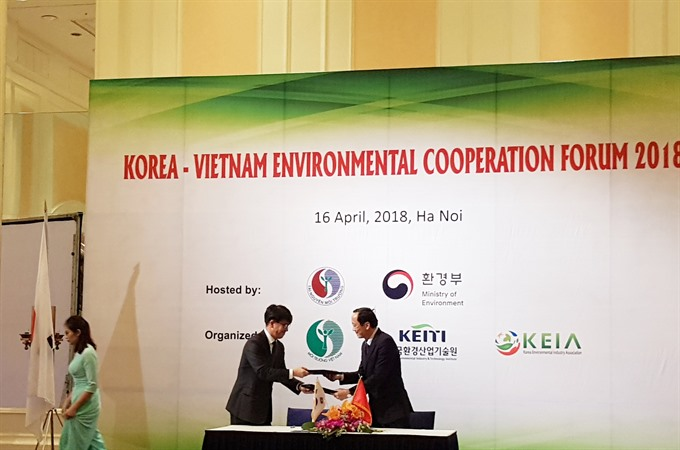 VN S. Korea collaborate to improve sewage system