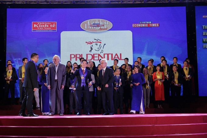 Prudential wins Golden Dragon Award