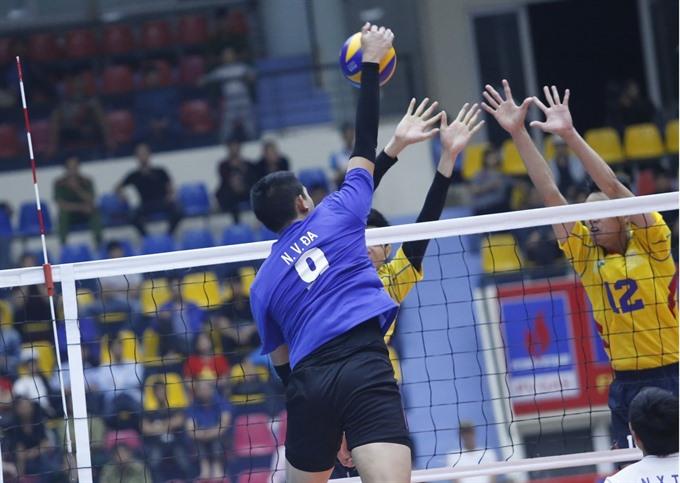 HCM City beat Ninh Bình at volleyball event