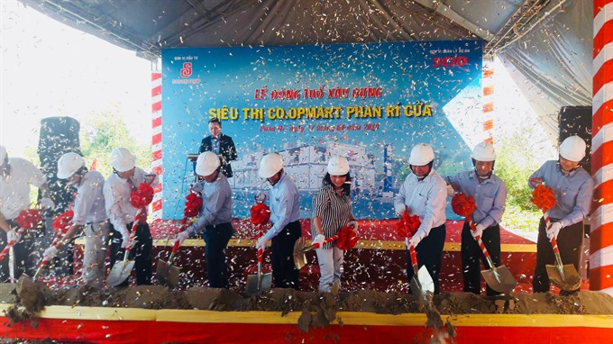 Saigon Co.op builds new supermarket