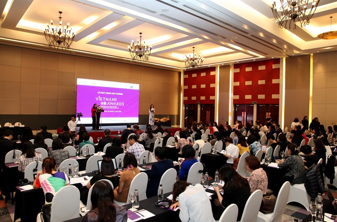 Vietnam HR Awards 2018 launched